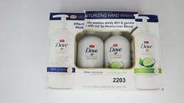 Dove moisturizing hand wash 4 pack refreshing care deep moisture cucumber  - $17.41