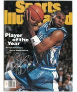 Jerry Stackhouse signed 1995 Sports Illustrated Full Magazine 3/6/95- Si... - $68.95