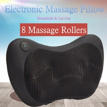 8 Rollers Personal Heating Kneading Massage Pillow! - £25.30 GBP