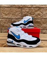 Nike Air Max Uptempo 95 White Photo Blue Black MEN'S ATHLETIC SNEAKER CK... - $125.00
