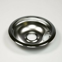 WB31M1 GE 6 In Burner Drip Bowl Chrome OEM WB31M1 - $18.76