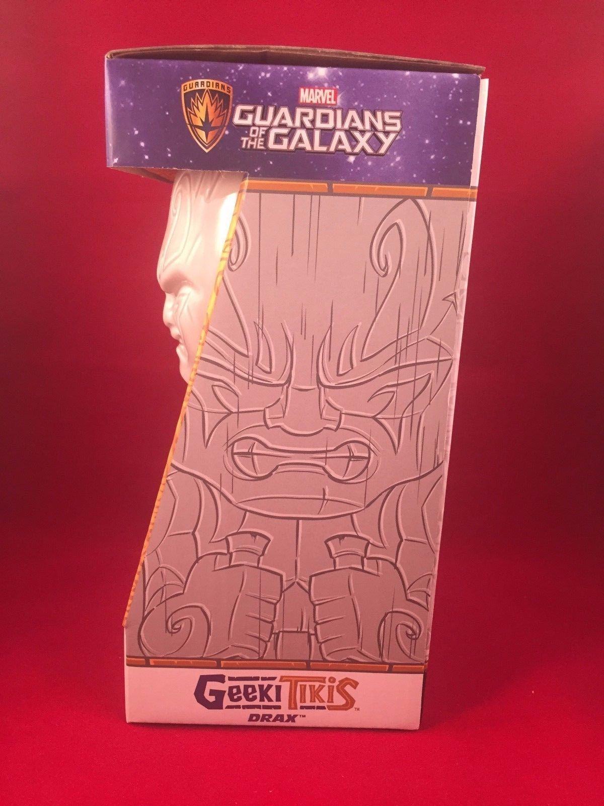 Marvel Guardians of The Galaxy Drax Geeki Tikis Bar Drink Mug Luau Groot Tiki
