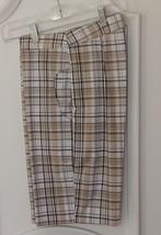 "Women's 20""  Stylish Plaid Golf & Casual Short - New - GoldenWear - $29.95"