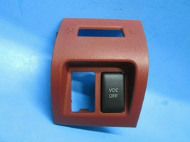 Nissan Murano 03 04 05 06 07 plastic bezel trim RED VDC switch 68485CA40... - $17.27