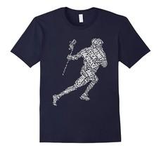 Fun New Shirts - Lacrosse Stick ball t-shirt Men - $19.95+