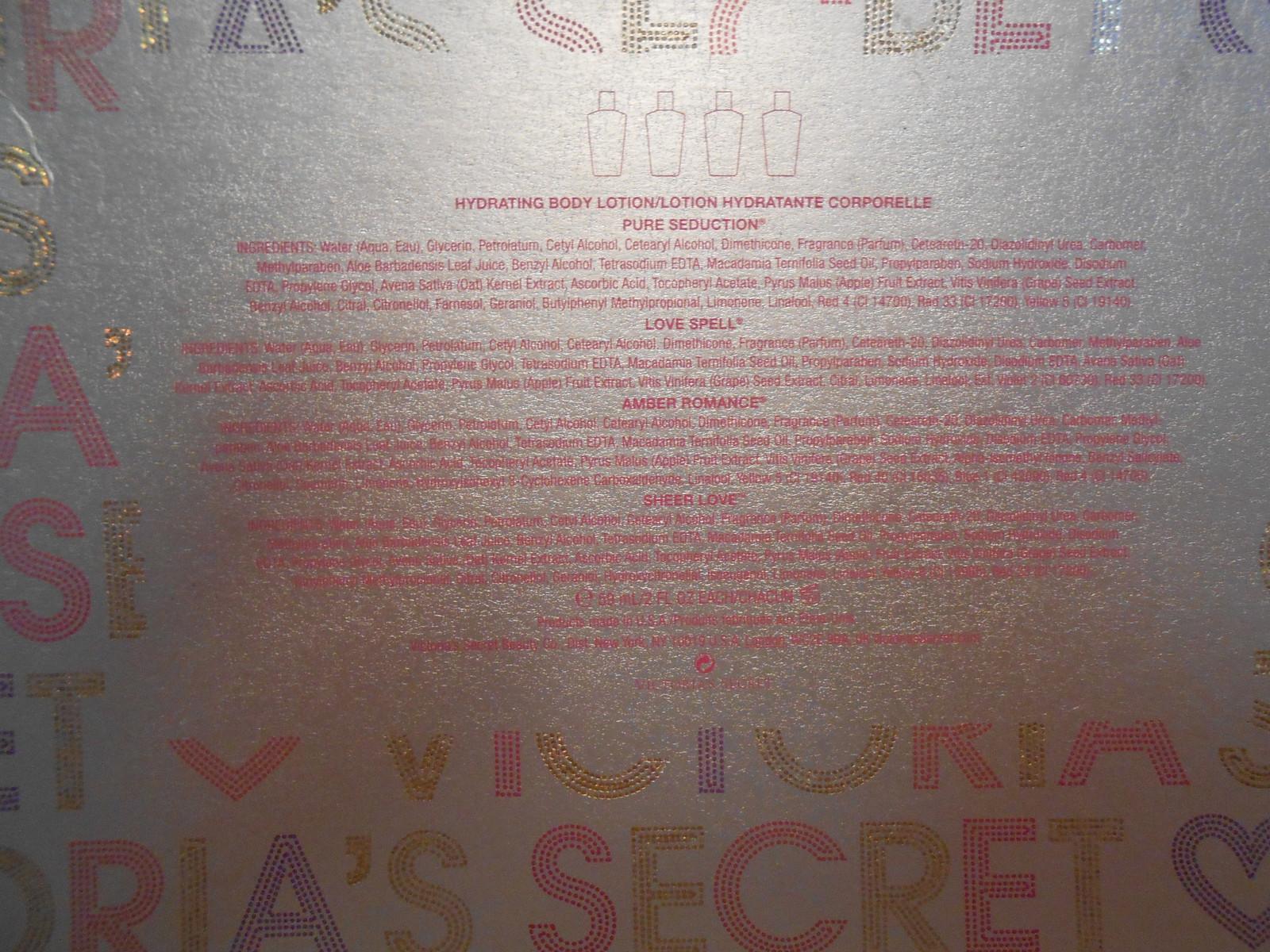 VICTORIA'S SECRET BODY LOTIONS (4) PIECE SET 2 OZ EACH NEW IN BOX image 3