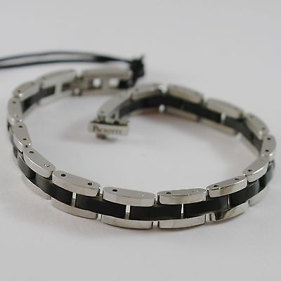STEEL BRACELET WITH STEEL BURNISHED CESARE PACIOTTI 4US ARTICLE 4UBR1372