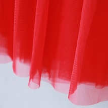 RED Long Tulle skirt Women Red Tulle Long Maxi Skirt Red Wedding Party Skirts image 2