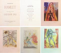 """Salvador Dali """"Hamlet Suite"""" 1973 - S/N 10 Piece Engravings Albert Field... - $30,000.00"""