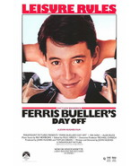 Ferris Bueller's Day Off Poster 27x40 Matthew Broderick 69x101 cm Jennifer Grey - $24.99