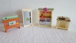 Fisher Price Loving Family Dollhouse Kitchen Set Refrigerator Stove Sink... - $19.99