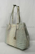 Brahmin Medium Julian Embossed Leather Tote/Shoulder Bag in Aquarelle Me... - $279.00