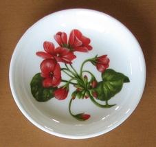 Aynsley Trinket Dish Chelsea Flowers Geranium Fine English Bone China - $6.94