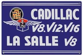 Cadillac V8 V12 V16 La Salle Sign - $25.74