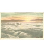 Sunrise above the clouds Mt. Washington, White Mountains, NH, Postcard - $5.99