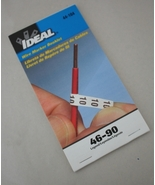 Ideal Wire Marking Marker Label Labels Booklet ... - $9.95