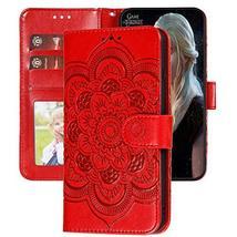 XYX LG Stylo 4 Wallet Case,LG Q Stylus Case,[Embossed Mandala Flower] PU... - $9.76