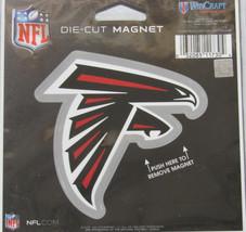 NFL NIB 4 INCH AUTO MAGNET - ATLANTA FALCONS - LOGO - €8,83 EUR
