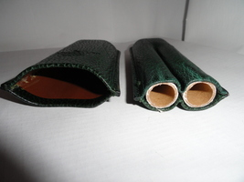 R.D.Gomez made in Spain Green Cigar Case  - $95.00