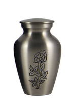 Classic Rose Keepsake Urn for Funeral Ashes - $42.00