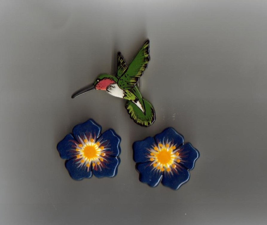 Humming bird   flowers b covers