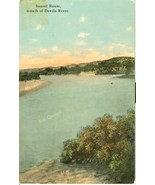 Sunset Route, mouth of Devil's River, 1910s-1920s unused Postcard  - $3.99