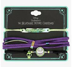 Disney The Nightmare Before Christmas Jack Skellington Charms Cord Brace... - $18.31