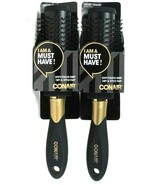 2 Conair Classic Style 77217T13 Velvet Soft Touch Grip Fast Dry Style Ha... - $18.99