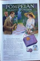 1920 Pompeian Beauty Powder Vintage Ad from Ladies Home Journal - $9.95