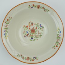 Gibson Designs China Adamand Eve Rimmed Cereal Bowl Dinnerware Tableware... - $3.59