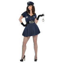 Officer Rita Dem Rights Police Costume Adult Womens Plus 18 20 Halloween Party - $37.71