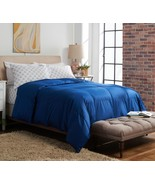 Northern Nights 650 Fill Power 440TC Cotton Down Comforter KG Dark Blue ... - $155.19