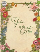 Gloria & Pat GARDENS OF THE MIND Book 19 Counted Thread Cross Stitch 1983  - $9.49