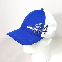 Chase 54 Baseball Cap Flex Hat Blue & White Size S/M - $8.41