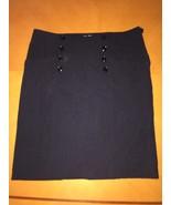 Women's Beautiful Elegant H&M Black Knee High Skirt Size 12 - $7.91