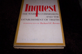 Kennedy Book- Inquest  BC 1st Edition - $75.00