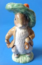 Beatrix Potter Royal Albert Benjamin Bunny Rabbit Figurine 1989 England ... - $24.70
