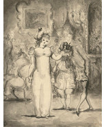 Harold Hope Read (1881-1959) - Signed Pen and Ink Drawing, Society Ball - $303.09