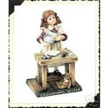 "Boyds Dollstone ""Maggie...Grandmoms Helper"" #3578- LE- 1E- NIB- 2002- Retired - $29.99"