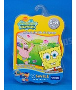 V Smile Cartridge A Day in the Life of a Sponge Bob Smartridge VSmile VT... - $12.86