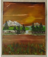 Oil Painting 20 x 16in Canvas Michael Blanchard... - $52.91