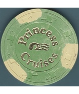 $25 Casino Chip. Princess Cruise Line. B68. - $5.95