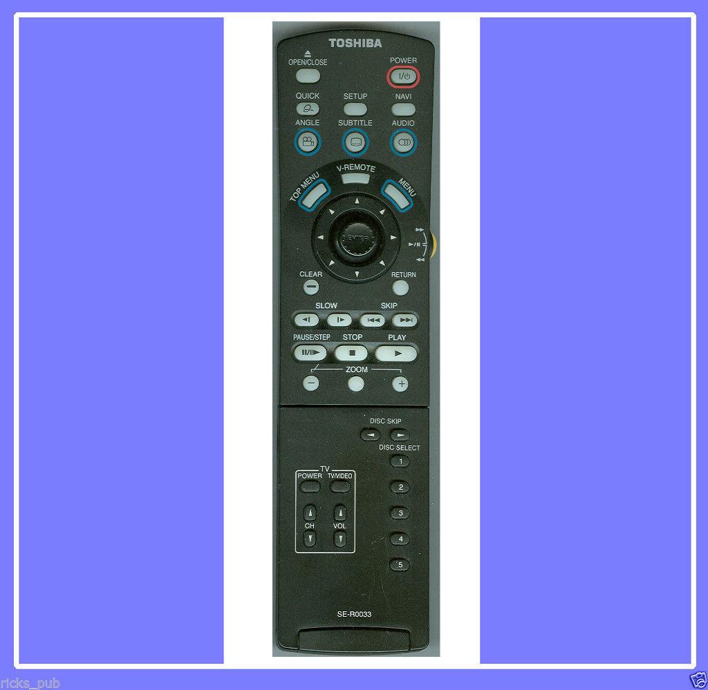 toshiba sd 6100 dvd player manual