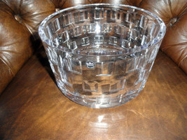 "Rosenthal  Classic Large Size  Crystal Bowl measures  8.75"" diameter - $350.00"