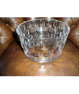 """Rosenthal  Classic Large Size  Crystal Bowl measures  8.75"""" diameter - $350.00"""