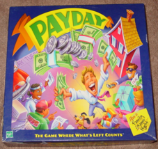 Payday Game 2000 Parker Brothers Hasbro #00032 Made In Usa Complete Excellent - $15.00