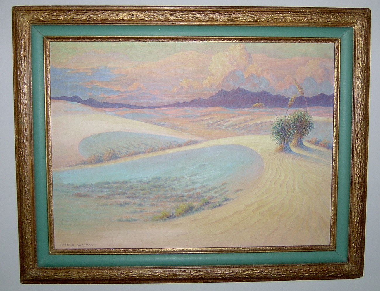 Harris Shelton, 1896-1976, Signed Oil Painting