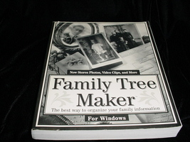 Book: Family Tree Maker 2.0 User's Tutorial and Reference Manual  - $5.00