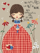 So Are You Sweet Thoughts cross stitch chart Lena Lawson Needle Arts - $10.80