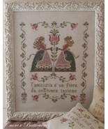 Il Fiore Dell'Amicizia cross stitch chart Cuore e Batticuore  - $12.60